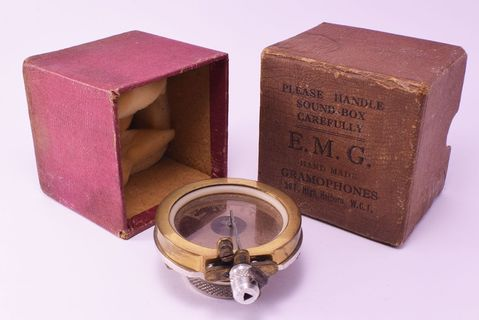 Branded Exhibition-type EMG in box
