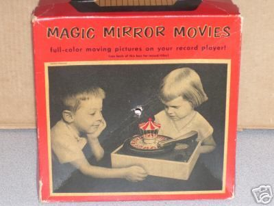 Magic Mirror Phonograph Toy
